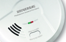 Hardwired Smoke Detectors, Universal Security hardwired alarms