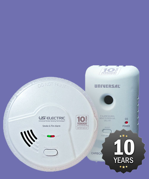 20% Of USI 10 year sealed battery smoke alarms