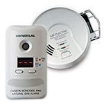 USI Combination smoke, co and gas alarms