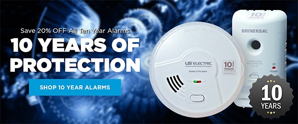 10 year smoke alarm sale