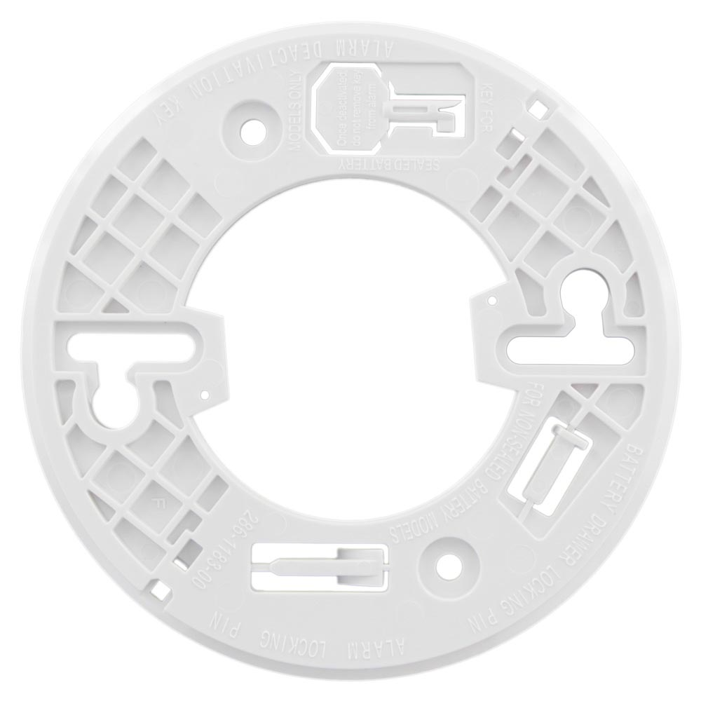 USI Electric Hardwired Ionization Smoke and Fire Alarm with Battery Backup (5304)