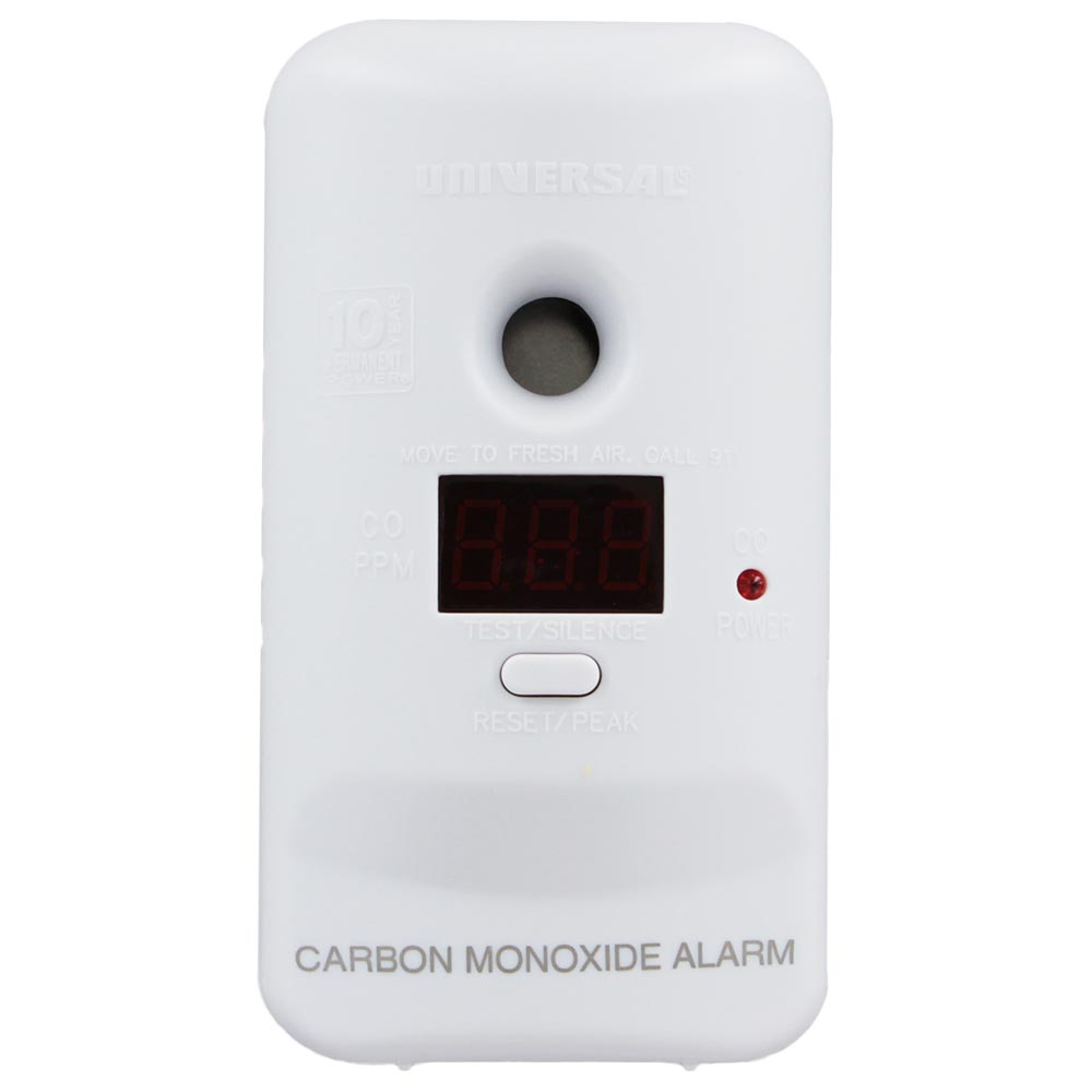 Universal Security Instruments Every Room Digital Carbon Monoxide Smart Alarm with 10 Year Sealed Battery (MCD305SB)