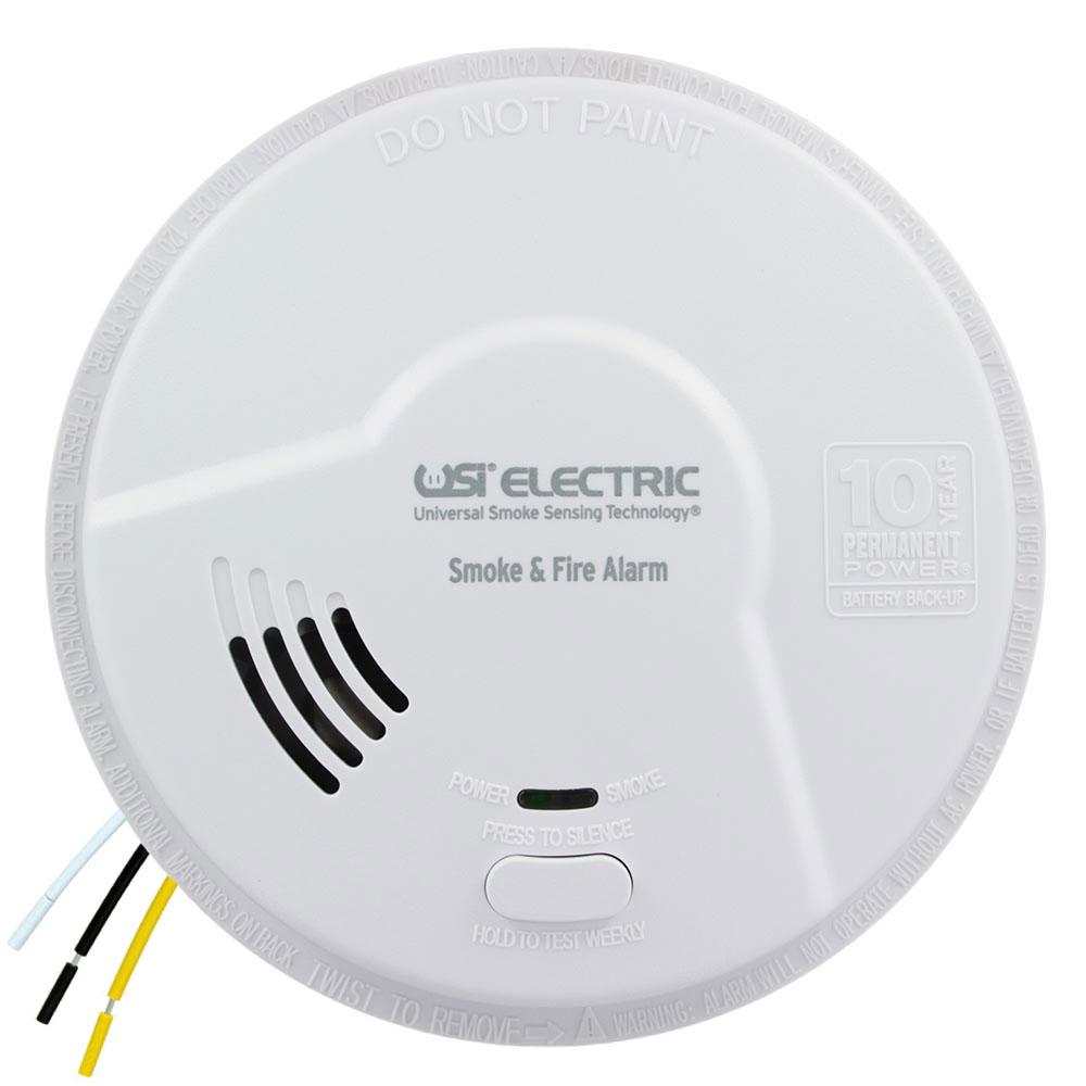 USI 2-in-1 Hardwired Smoke & Fire Smart Alarm MI106S