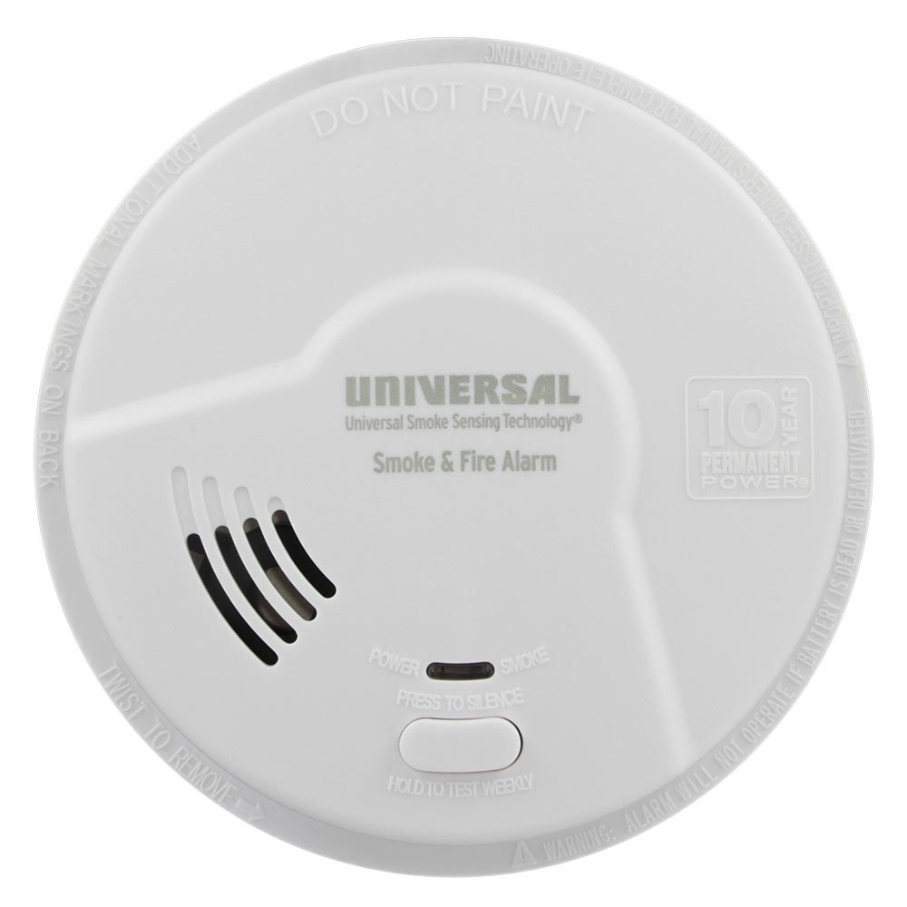 3 Pack Bundle Of Smoke Alarm With Smart Manual Guide