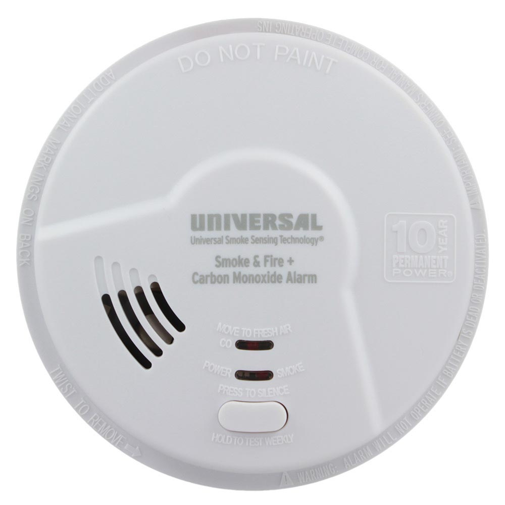 Smoke and Carbon Monoxide Smart Alarm with 10 Year Tamper-Proof Sealed Battery