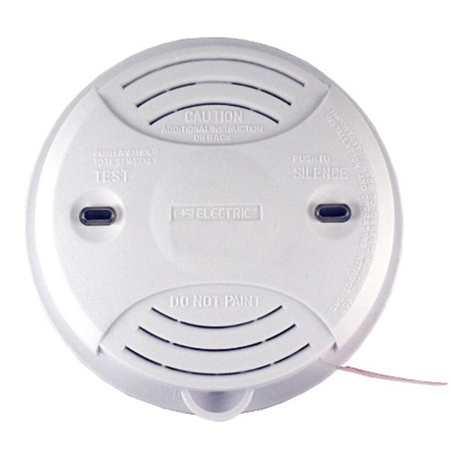 Universal Security Instruments Battery-Operated Photoelectric Smoke and Fire Alarm (SS-2895-6P)