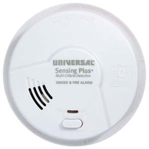 USI Sensing Plus AMIK3051SC Kitchen Smoke & Fire Alarm With 10 Year Battery