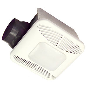 USI Electric Energy Star Qualified Bath Exhaust Fan with Nightlight and Fan Ligh