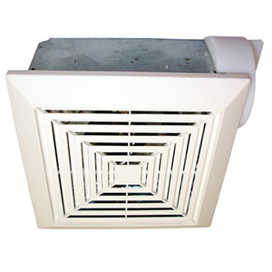 USI Electric Bath Exhaust Fan with 4-Inch Vent and CustomMotor, 70 CFM (BF-704)