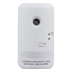 USI Plug-In 2-in-1 CO and Natural Gas Smart Alarm with Battery Backup (MCN400B)