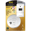 USI Value Pack Smoke Alarm MDS300-401 & Plug-in CO and Natural Gas Alarm MCND401