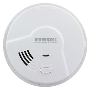 USI Smart Battery-Operated Ionization Smoke Alarm (MI3050)