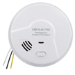 USI Electric Hardwired Photoelectric Smoke and Fire Alarm with Battery Backup (MP117)