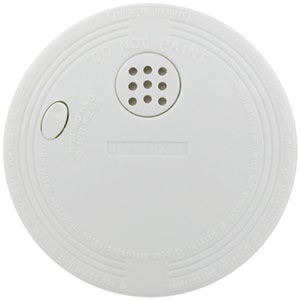 USI Compact Size Battery-Operated Ionization Smoke Alarms, 6-Pack (SS-770-6CC)