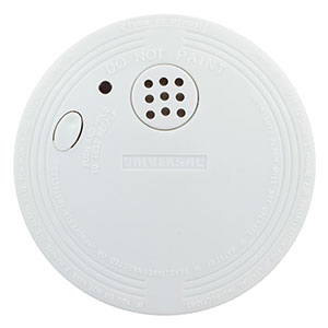 USI Battery-Operated Photoelectric Smoke Alarm, 2-Pack (SS-901-2C/3CC)