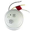 USI Electric Hardwired Fixed Temperature Heat Alarm with Backup Battery USI-2430