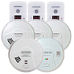 USI Homeowners Smoke, Fire & Carbon Monoxide Bundle, Include 8 Alarms